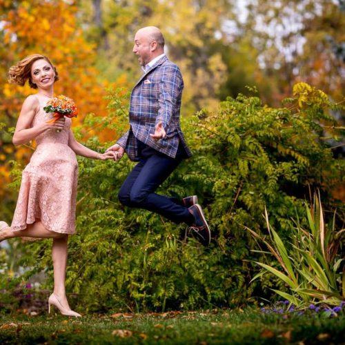 Sedinta Foto Gradina Botanica Bucuresti - Geanina si Stefan - Fotograf Nunta Bucuresti Catalin Stefanescu