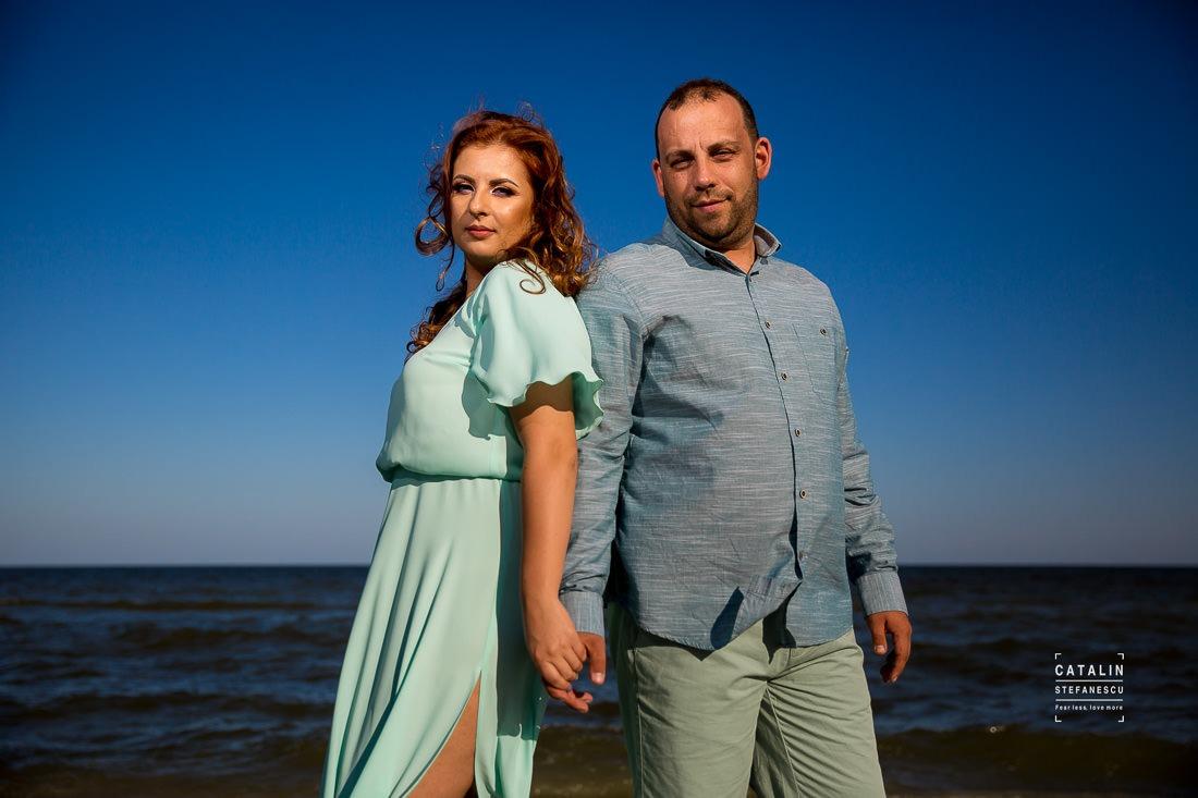 Sedinta Foto Plaja Vadu Elena Si Liviu - Fotograf Nunta Profesionist Catalin Stefanescu
