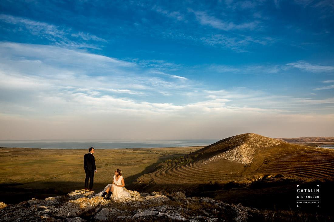 Sedinta foto Cetatea Enisala - Irina si Gabi - Fotograf nunta Catalin Stefanescu