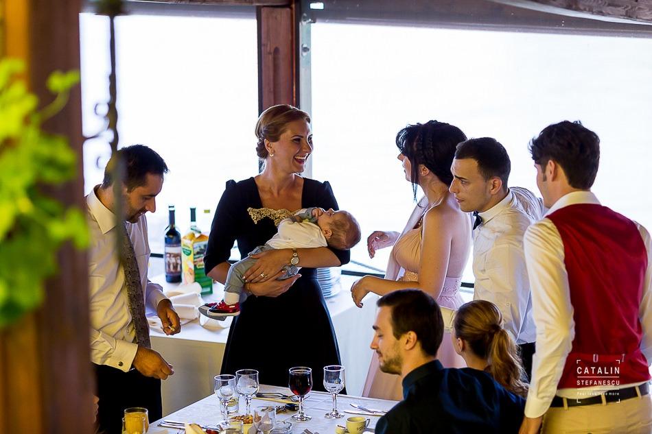 Fotografie botez Slobozia Dominic - Fotograf de botez Slobozia Catalin Stefanescu
