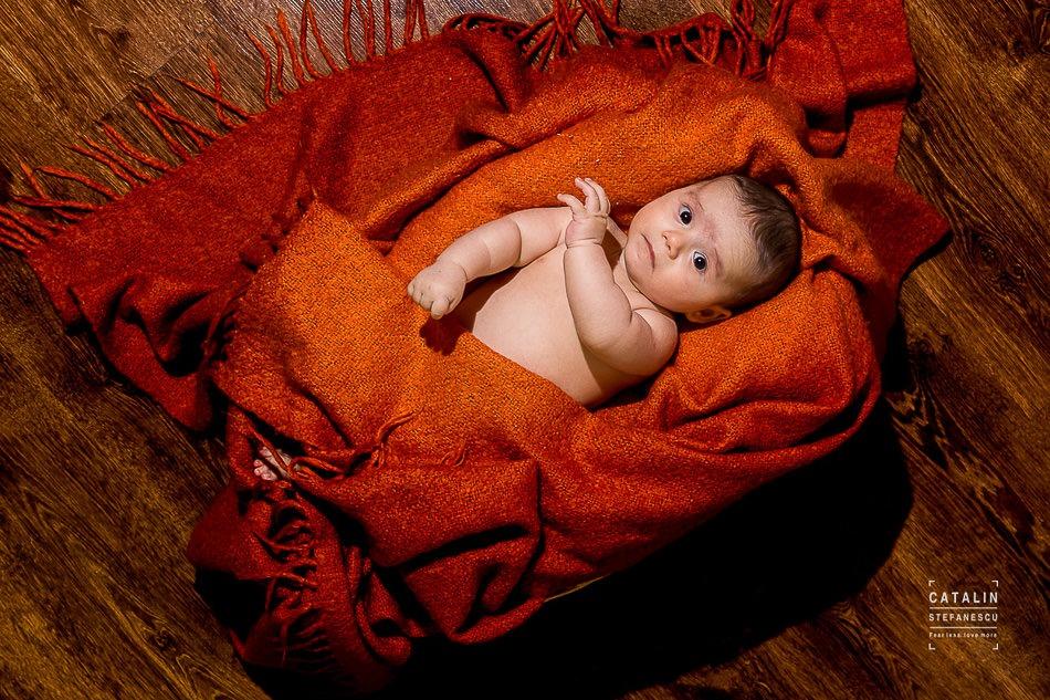 Fotografie de nou nascuti Andrei - Fotograf Catalin Stefanescu