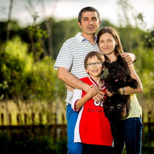 Sesiune foto familie Cristina si Bogdan - Fotograf Catalin Stefanescu