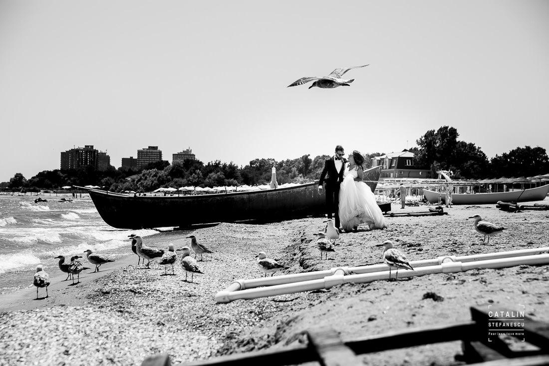 Trash the dress Constanta - Diana si Gabi - Fotograf nunta Catalin Stefanescu