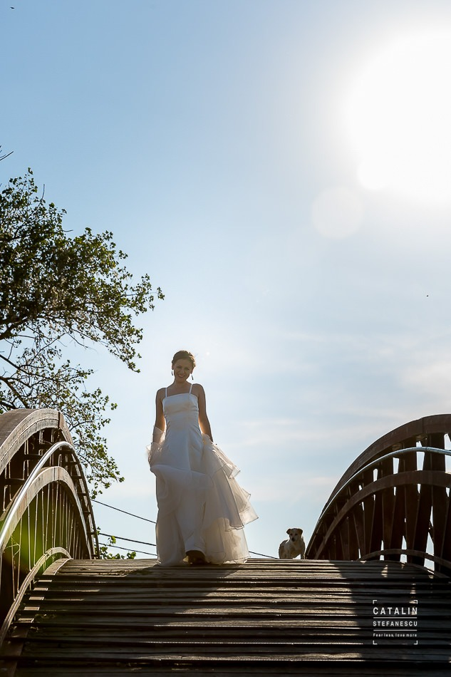 Trash the dress Delta Dunarii - Delia si Adi - Fotograf nunta Catalin Stefanescu