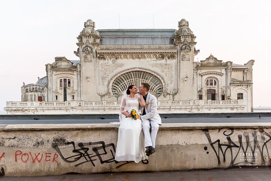 Trash the dress Mamaia Natasa si Denis - Fotograf profesionist Catalin Stefanescu
